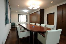 スカイルームの会議室